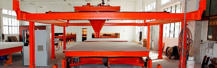 Production lines for prefabricated houses
