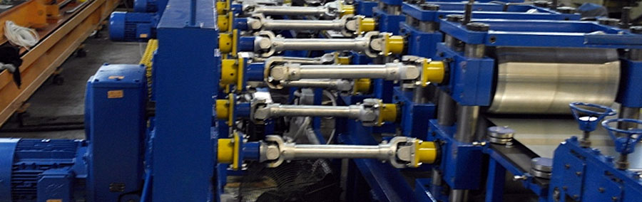 Production lines for Z, C and sigma cold-formed structural sections